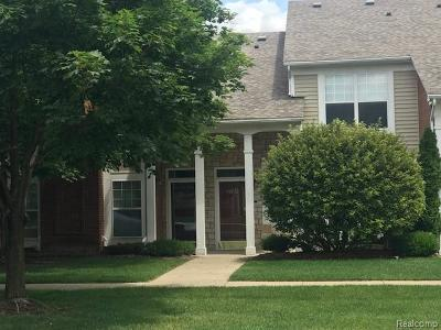 Sterling Heights Condo/Townhouse For Sale: 44732 Marigold Drive