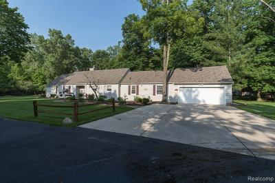 Grosse Ile Twp Single Family Home For Sale: 8710 Ferry Road