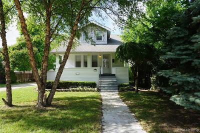 Berkley Single Family Home For Sale: 1276 N Franklin Road