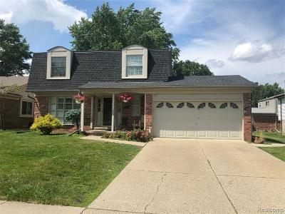 Sterling Heights Single Family Home For Sale: 12125 Volpe Drive