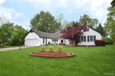 Farmington, Farmington Hills Single Family Home For Sale: 35984 Charter Crest Road
