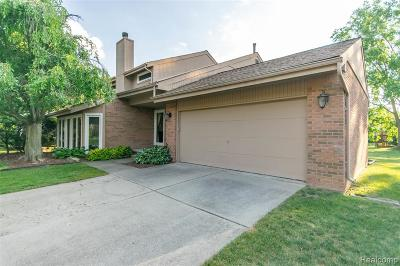 West Bloomfield Twp Single Family Home For Sale: 2172 Hidden Lake Drive