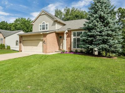 Commerce Twp Single Family Home For Sale: 3992 Dun Rovin Court