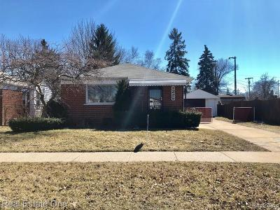 Wyandotte Single Family Home For Sale: 1229 Goddard Street
