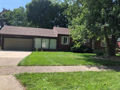 Dearborn Single Family Home For Sale: 3954 Gertrude Street