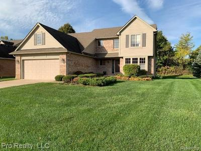Livonia Single Family Home For Sale: 36196 Fairway Drive