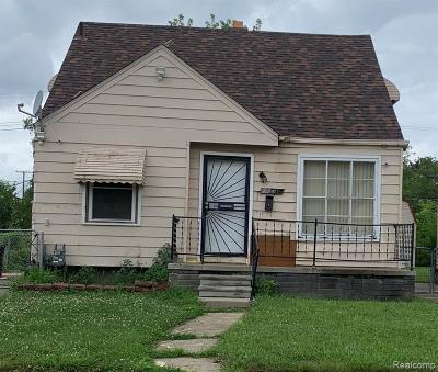 Detroit Single Family Home For Sale: 7239 Westwood Street