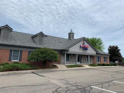 Independence Twp Commercial Lease For Lease: 8040 Ortonville Road #B