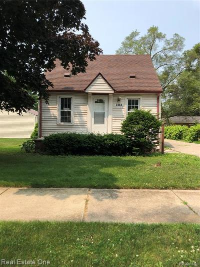 Taylor Single Family Home For Sale: 6124 Oldham Street