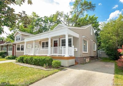 Ferndale Single Family Home For Sale: 512 W Troy Street