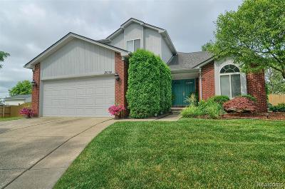 Troy Single Family Home For Sale: 2074 Gabriel Court