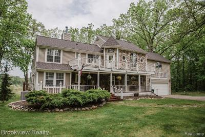 Oakland County Single Family Home For Sale: 970 Rochester Road