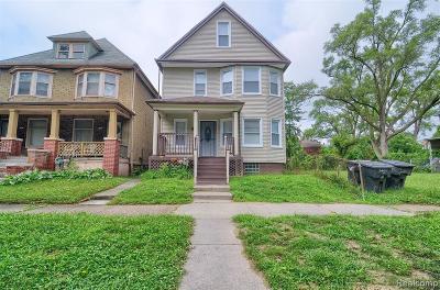 Wayne County Single Family Home For Sale: 3469 Baldwin Street