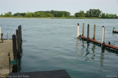 Grosse Ile, Gross Ile, Grosse Ile Twp Residential Lots & Land For Sale: 6 Boat Well East River Wells E