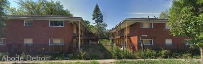 Detroit Multi Family Home For Sale: 10235 Whittier Street