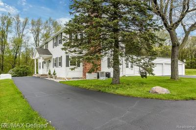 Single Family Home For Sale: 5879 Baldwin Road