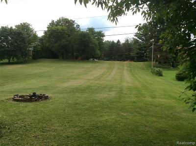 Washington Twp MI Residential Lots & Land For Sale: $121,000