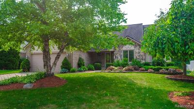Wixom Single Family Home For Sale: 3994 Wexford Drive