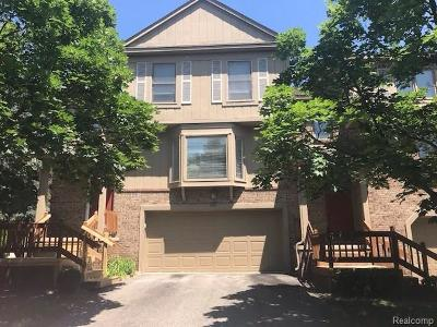 West Bloomfield Twp Condo/Townhouse For Sale: 4212 Colorado Lane