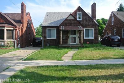 Dearborn Single Family Home For Sale: 10125 Tireman Avenue
