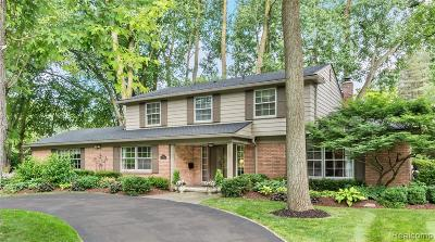 Birmingham Single Family Home For Sale: 1570 Pilgrim Avenue