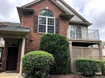 Oakland Twp Condo/Townhouse For Sale: 3567 Tremonte Circle S