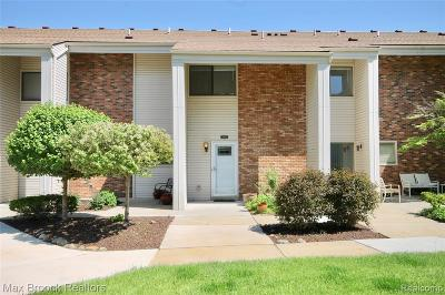 West Bloomfield Twp Condo/Townhouse For Sale: 6156 Palomino Court
