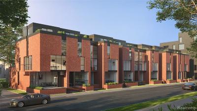 Detroit Condo/Townhouse For Sale: 6 Edmund Place #6
