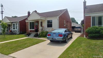 Lincoln Park Single Family Home For Sale: 1709 Goddard Road