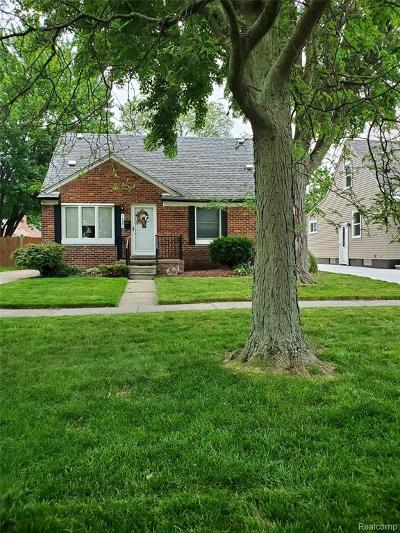 Southgate Single Family Home For Sale: 14541 Burns Street