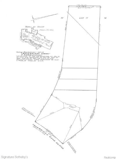 Bloomfield Hills Residential Lots & Land For Sale: 1355 Trowbridge Road