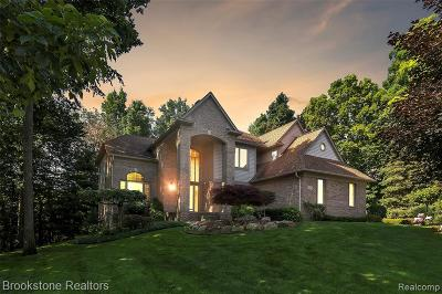 Lake Orion, Orion Twp, Orion Single Family Home For Sale: 1061 Indianpipe Road
