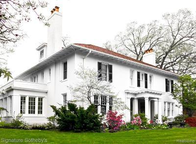 Detroit Single Family Home For Sale: 1731 Seminole Street