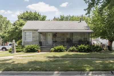 Southgate Single Family Home For Sale: 13631 Wesley Street