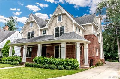 Birmingham MI Single Family Home For Sale: $1,699,000