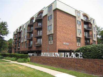 Birmingham MI Condo/Townhouse For Sale: $220,999