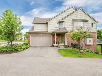 Highland Twp Condo/Townhouse For Sale: 1194 Alissa Marie Dr