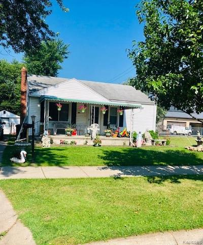 Taylor Single Family Home For Sale: 7148 Gulley Street