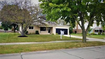 Livonia Single Family Home For Sale: 37248 Vargo Street