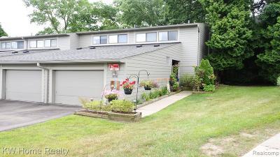 Ann Arbor Condo/Townhouse For Sale: 656 Peninsula Court