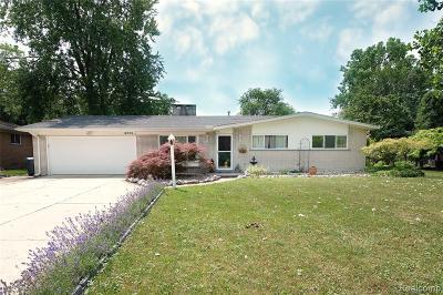 Grosse Ile, Grosse Ile Twp Single Family Home For Sale: 8255 Horsemill Road