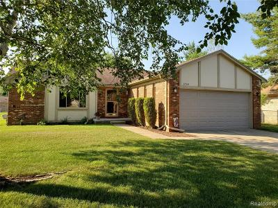Sterling Heights Single Family Home For Sale: 3724 Alderdale Drive