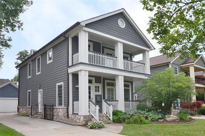 Birmingham MI Single Family Home For Sale: $640,000