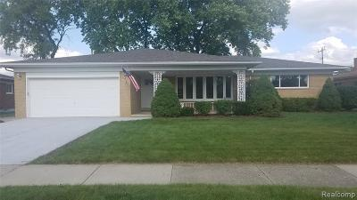 Warren Single Family Home For Sale: 29310 Aline Drive
