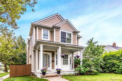 Birmingham MI Single Family Home For Sale: $549,900