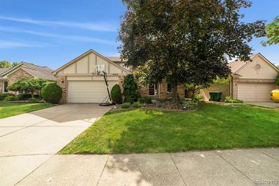 Macomb County, Oakland County, Wayne County Single Family Home For Sale: 46839 Fox Run Drive