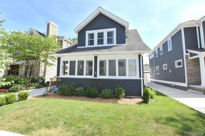 Birmingham MI Single Family Home For Sale: $399,999
