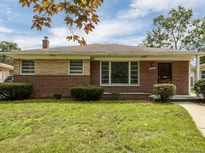Wayne County Single Family Home For Sale: 14322 Salem