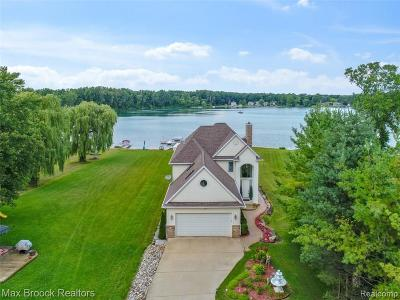 White Lake Single Family Home For Sale: 10870 Hillway Drive