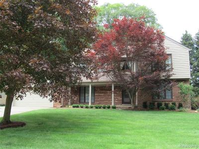 Rochester Hills Single Family Home For Sale: 354 Tanglewood Drive